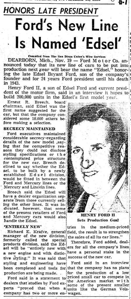March 20, 1956: San Diego Union