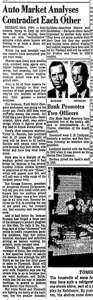 February 24, 1957: Dallas Morning News