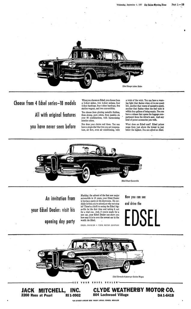 September 4, 1957: Dallas Morning News