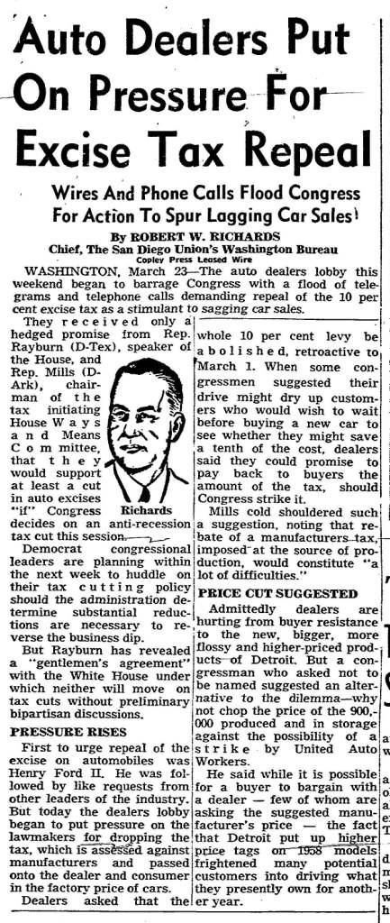 January 16, 1958: San Diego Union