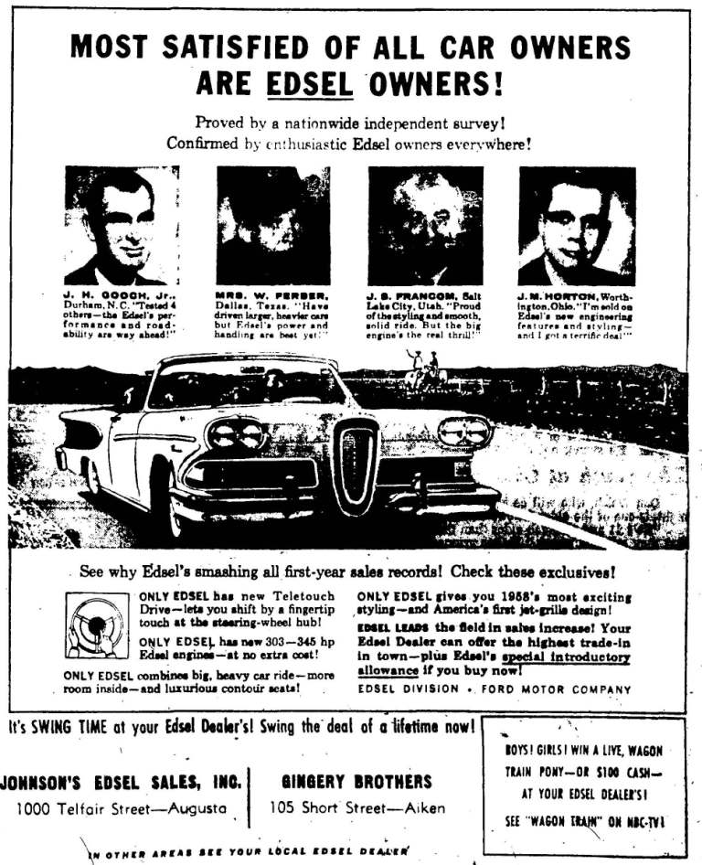 April 24, 1958: Augusta Chronicle