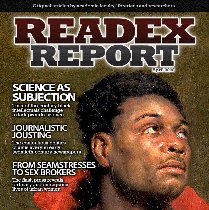 Readex Report Issue 15 Cover