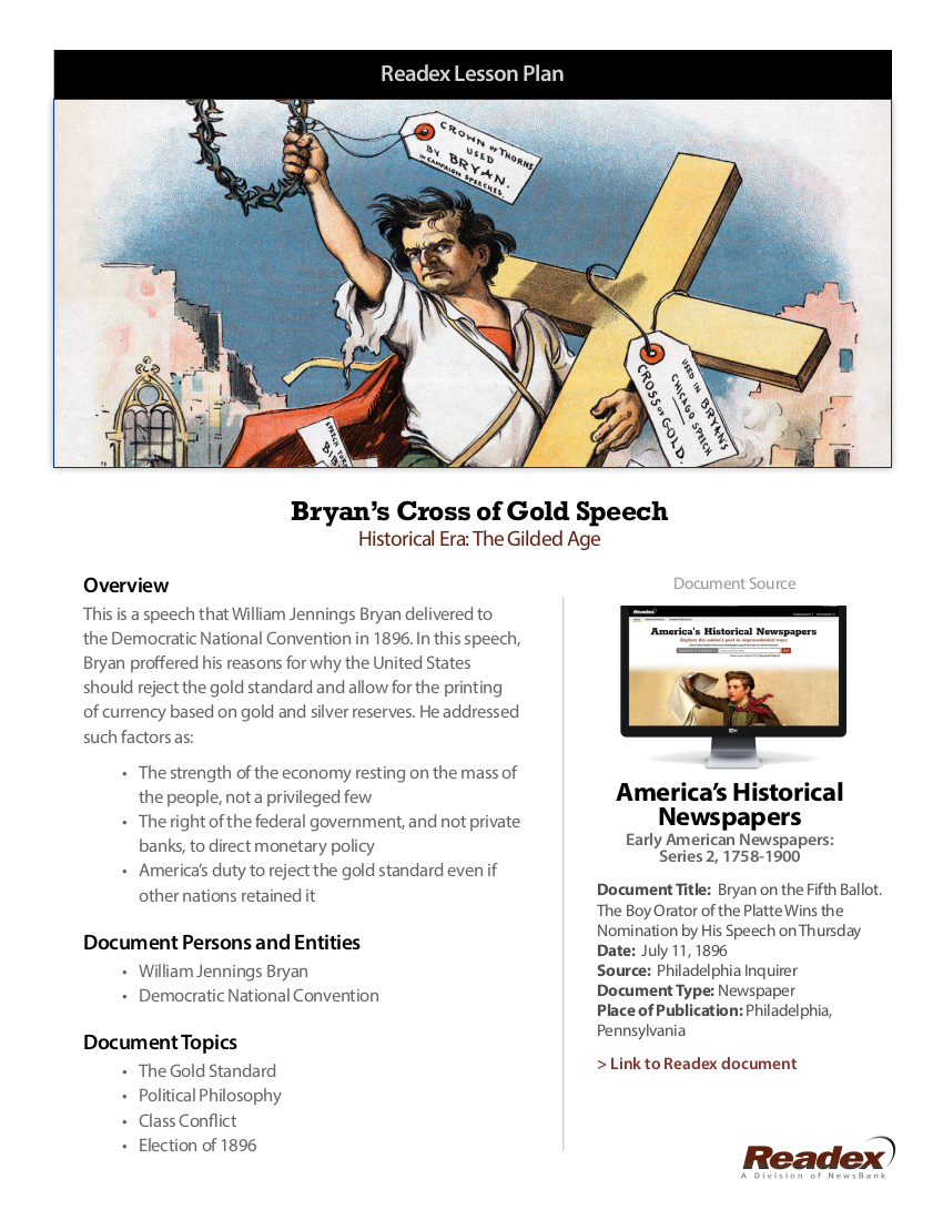 Readex-Lesson-Plan-Bryans-Cross-of-Gold