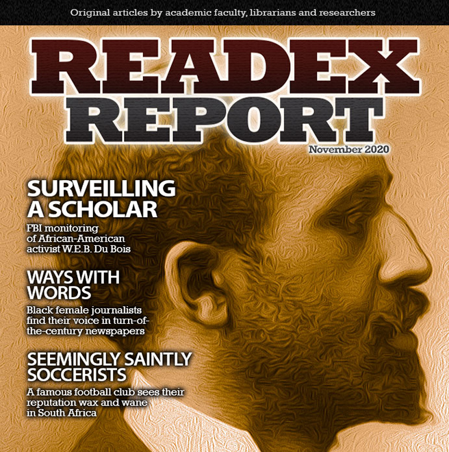 Readex Report Volume 15, Issue 2 Cover