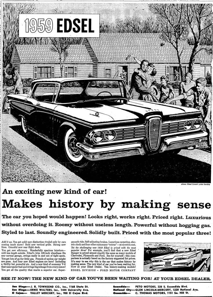 October 31, 1958: San Diego Union