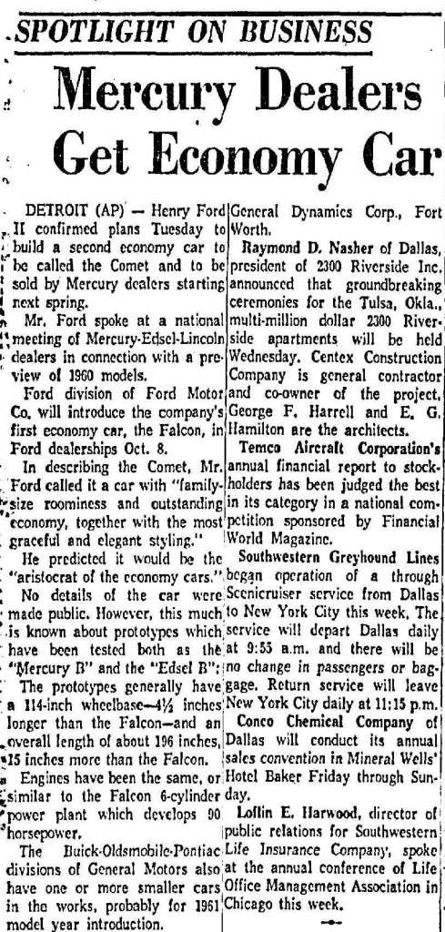 September 30, 1959: Dallas Morning News