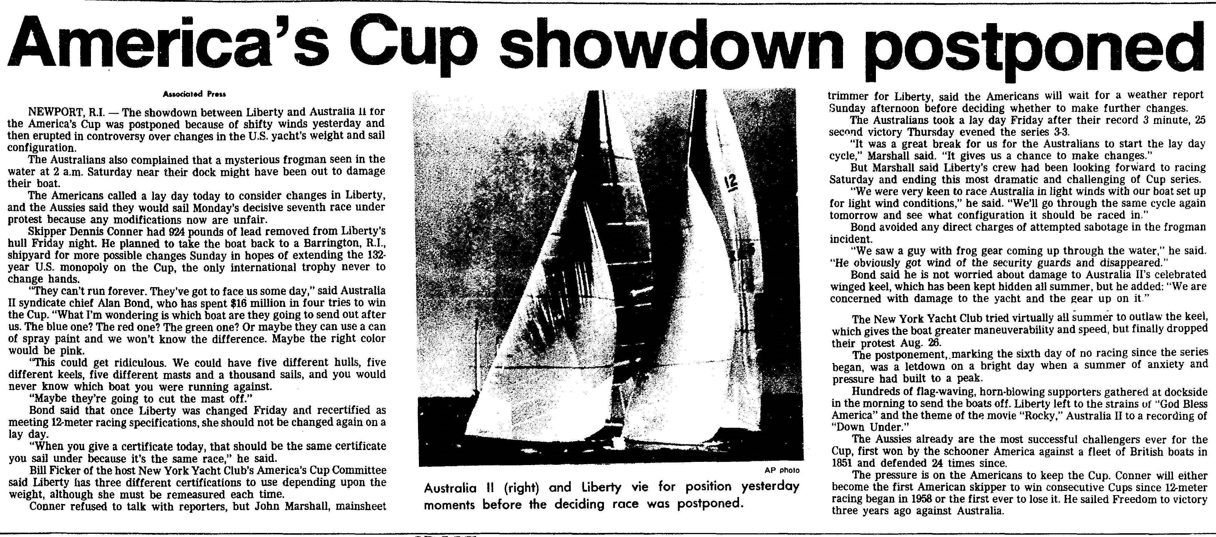 Trenton Evening Times, 1983-09-25