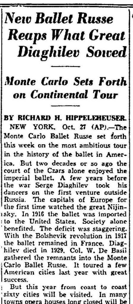 Dallas Morning News; Date: 10-28-1934