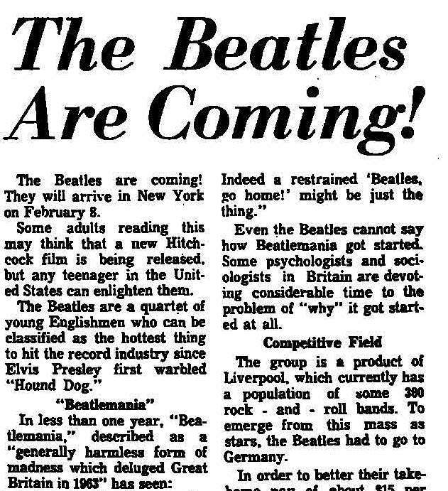 (From the Trenton Evening Times, 24 January 1964. Click to open full article.)