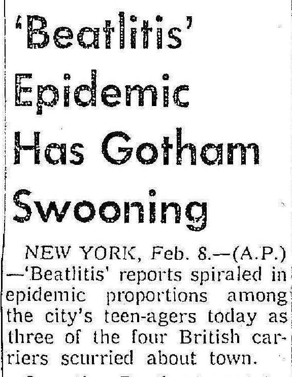 (From the Seattle Daily Times, 2 February 1964. Click to open full article.)