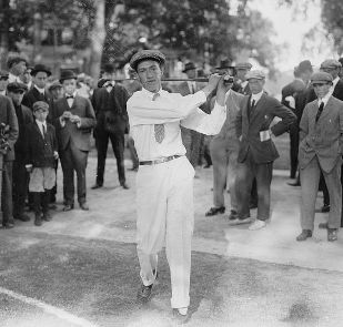 Francis Ouimet at the 1913 U.S. Open