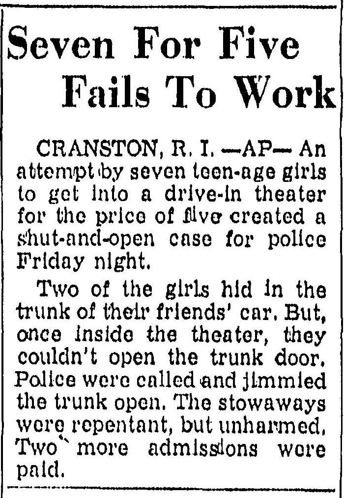 Trenton Times (18 March 1962)