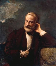 Portrait of Victor Hugo. Source: Wikipedia Commons