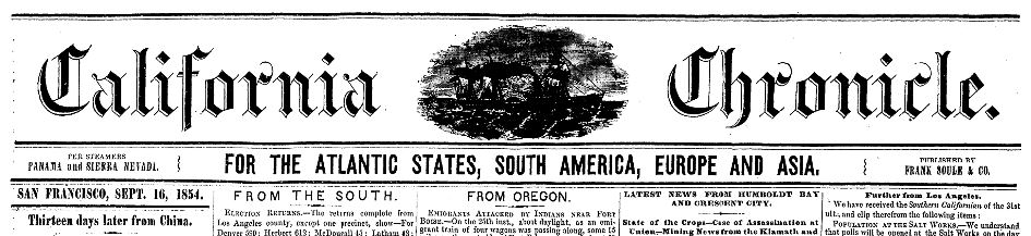 California Chronicle EAN 13.JPG