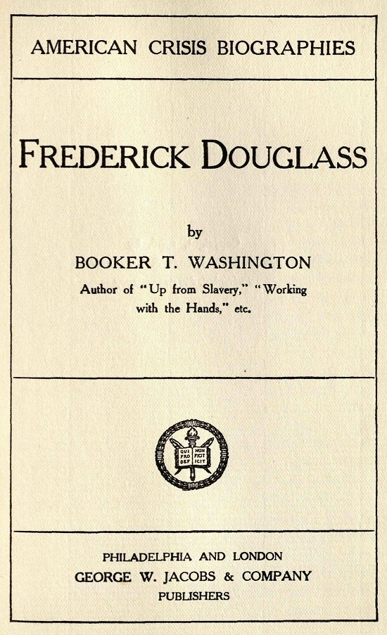 Douglas by Washington Title Page.jpg
