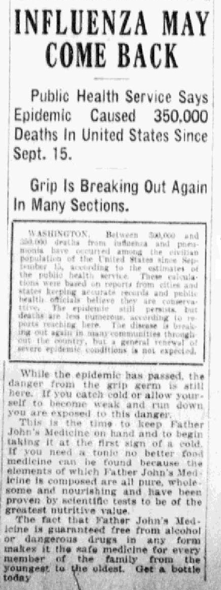 InfluenzaBPDF#15 Fort_Wayne_News_Sentinel_published_as_The_Fort_Wayne_News_and_Sentinel___December_31_1918_Page_1.jpg