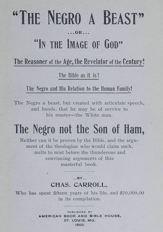 _The_negro_a_beast_or_In_the_image_of_God_The__1900 AA&JC.jpg