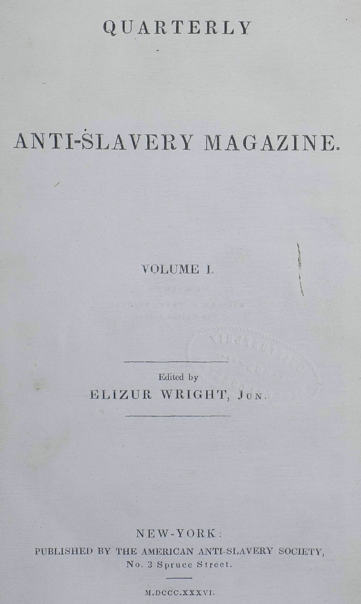 quarterly anti-slavery magazine Title Page.jpg