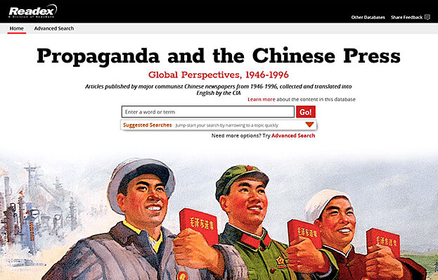 Propaganda and Chinese press