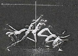 Study in Human Motion. Photograph by Thomas Eakins.