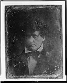 Daguerreotype of Thomas Hamblin (1848), Library of Congress