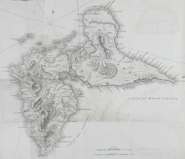 Map of Guadaloupe (from volume above)