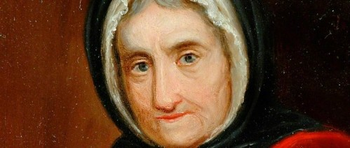 Mother Shipton. [oil on panel, c. 1830] Gift from Mary Allott, 1997. The Mercer Art Gallery, Harrogate.