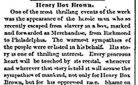 Emancipator and Republican; Boston, Mass.; June 7, 1849