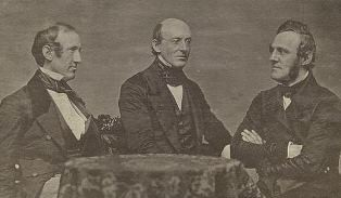 Wendell Phillips, William Lloyd Garrison and George Thompson