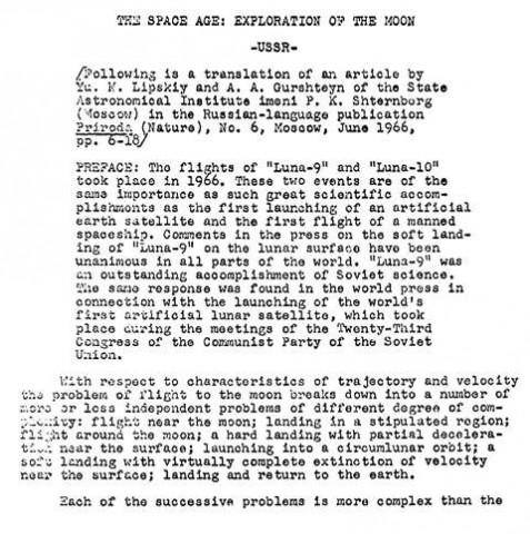 Space Race Essay Outline