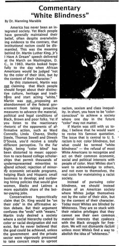 From Homeland (July 1, 1999). Source: African American Newspapers, 1827-1998