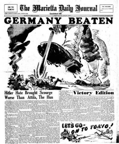 The Marietta Daily Journal; Date: 05-07-1945