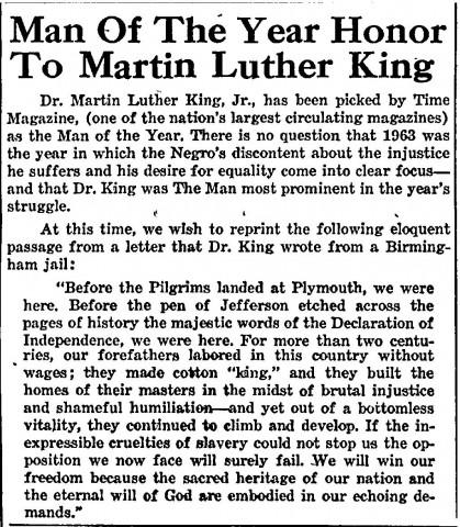 "Martin Luther King Jr. ""Letter From Birmingham Jail"" Essay Sample"
