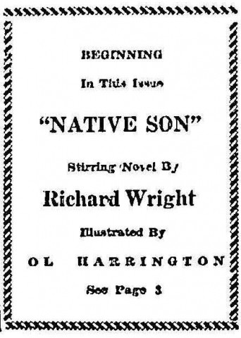 "native son essay blindness The motif of ""blindness"" in richard wright's 'native son' - david stehling - term paper (advanced seminar) - english - literature, works - publish your bachelor."