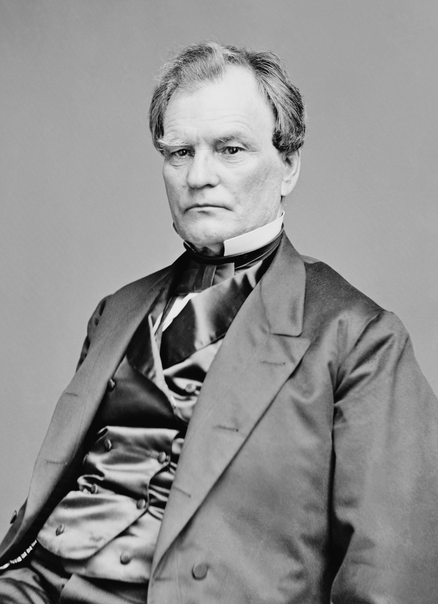 Ohio Senator Benjamin Franklin Wade. Source: Brady-Handy Photograph Collection (Library of Congress).