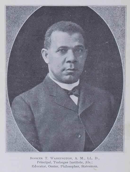Booker Taliaferro Washington (1856–1915)