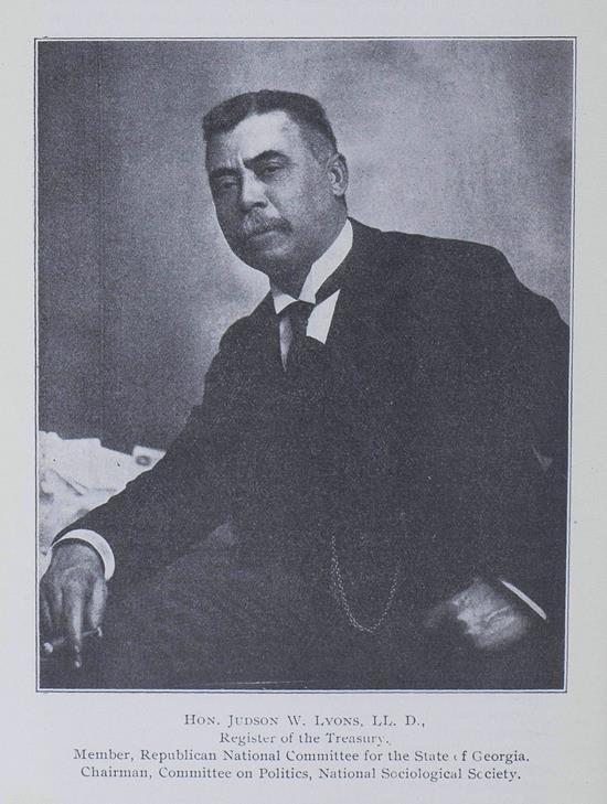 Judson Whitlocke Lyons (1860–1924)