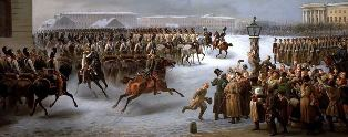 Decembrist Revolt, a painting by Vasily Timm