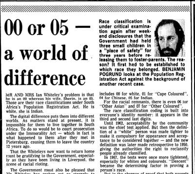 Editorial by Benjamin Pogrund (Rand Daily Mail; 3 August 1981)