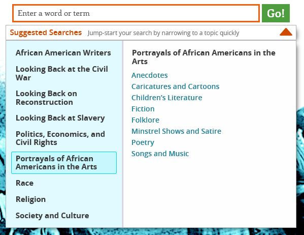 Search African Americans in the Arts.JPG