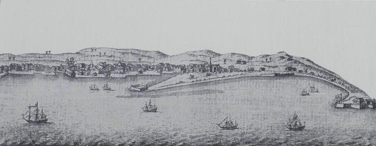 Bridgetown, Barbadoes in 1750 (from volume above)