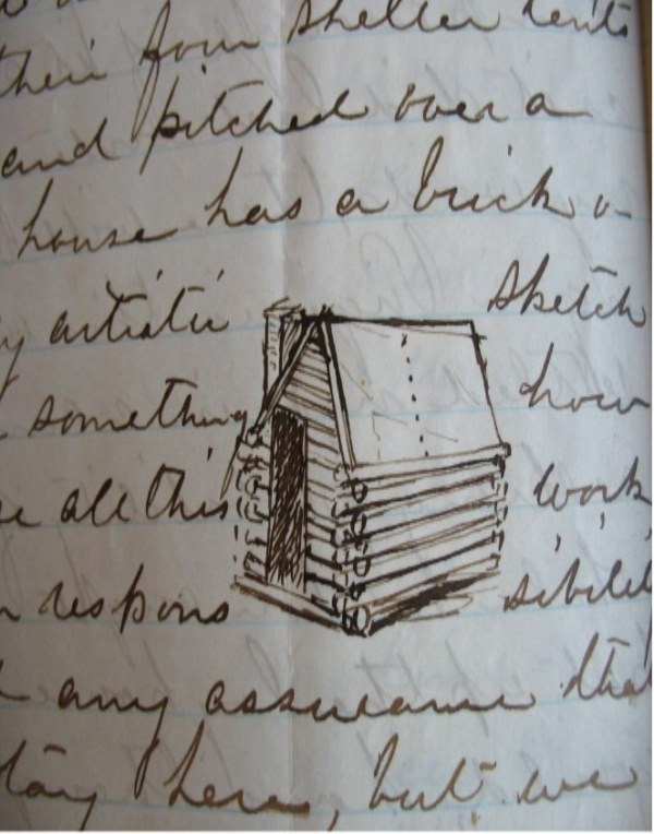 Charles Morse to his father, from Fairfax Station, January 10/11, 1863, Charles F. Morse Civil War Letters, Folder 6, Box 1, Charles F. Morse Papers, Massachusetts Historical Society (MHS)