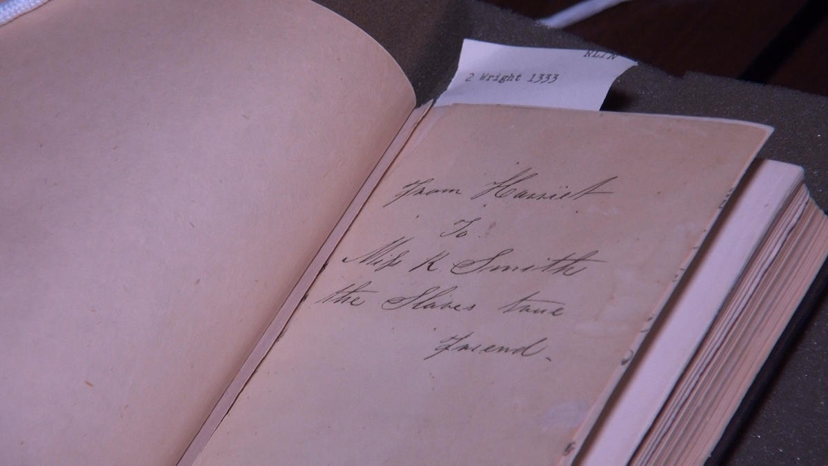 "The ""From Harriet"" inscription in Library Company copy of Incidents in the Life of a Slave Girl (1861)"