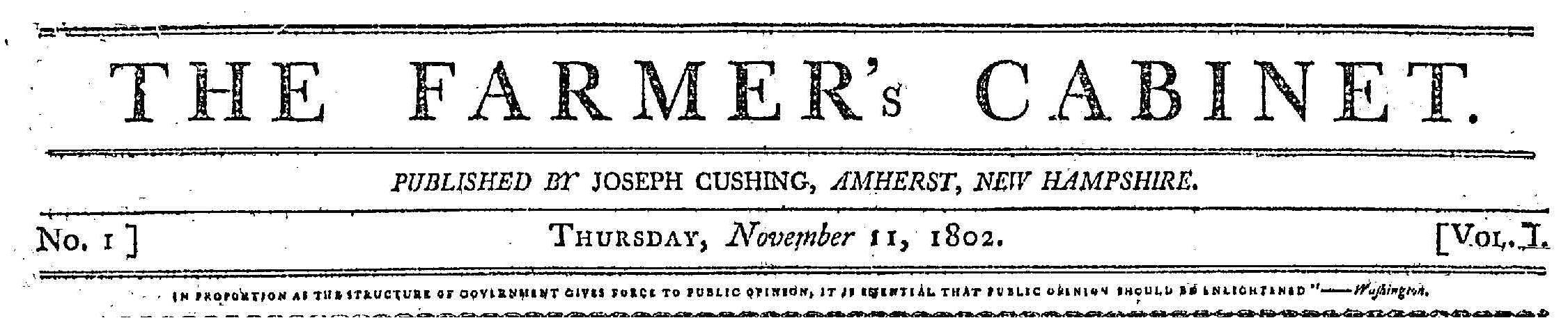 Early American Newspapers, Series 1: Key Titles and Their ...
